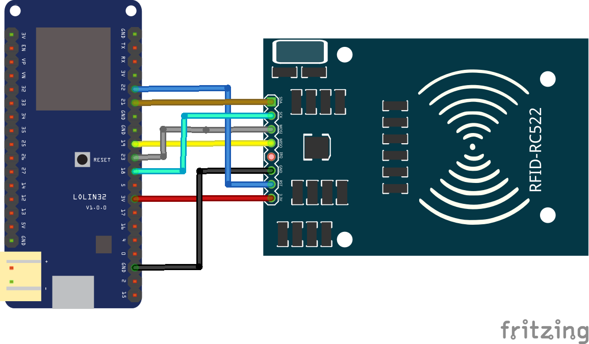 ESP32 and RFID-RC522 module example | ESP32 Learning